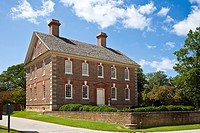 Yorktown, Virginia - Georgian style Nelson House in historic Yorktown, Virginia