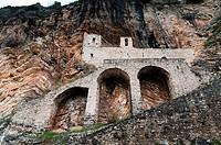 Hermitage of San Cataldo, Cottanello, Rieti, Lazio Latium, Italy, Europe