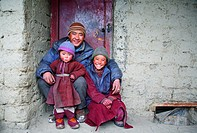 Family portrait, Ladakh, Jammu and Kashmir, India