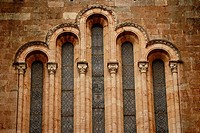 Basilica de Covadonga, Asturias. Detail window