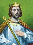 CLOTAIRE III -673  King merovingian of France and Neustria