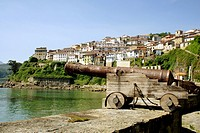 Lastres fishing village Asturias Spain