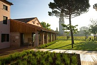 Italy, Venice, Mazzorbo island, Estate of Scarpa Volo, now Venissa hotel and restaurant.