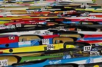 XXXIV Canoe-cross Asturias Championship, in Ribadesella  Spain