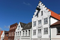 Historical Houses / Friedrichstadt / Schleswig-Holstein / Germany