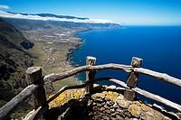 Views of ´The Gulf´ from the ´Mirador de la Peña´ Isla de El Hierro  Canarias