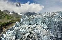 Glaciar d´Argentiere, Chamonix Alpes franceses