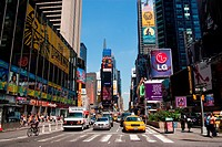 Times Square in Manhattan New York City
