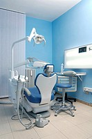 modern Dentist´s chair in a medical room