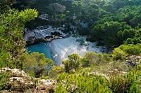 Macarelleta Beach, Menorca, Balearic Island, Spain