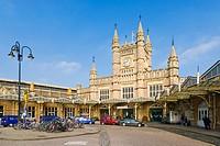 Bristol Temple Meads Rail Station, Bristol, Gloucestershire, England, UK.