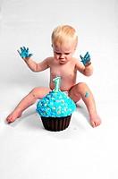 Boy and Cake2