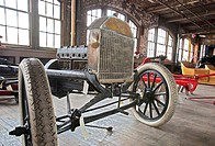 Detroit, Michigan - The Ford Piquette Avenue Plant, where the first Ford Model T was built in 1908  The building is now a museum called the Model T Au...