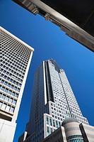 1000 La Gauchetière office tower building, Montreal, Quebec, Canada