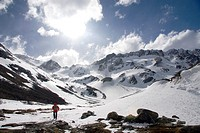 Martial glacier, Ushuaia, Tierra del Fuego island, Argentina
