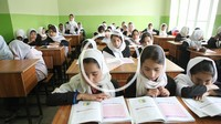 Primary school for girls in kabul, Afghanistan