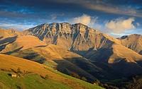 Castro Valnera mountain, Vega de Pas, Cantabria, Spain