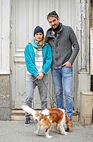 Paris Street Style / Alix, 22 & Thomas, 32/ Art Dramatic Student & Realizateur