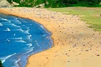 Rodiles Beach, Asturias, Spain