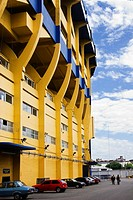 Boca Juniors football stadium La Bombonera, Buenos Aires, Argentina