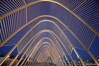 Olympic Sport Complex by Calatrava, Athens, Greece