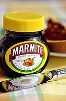 Marmite Jar, and Toast