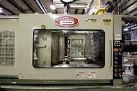 A plastics molding injection machine in Hudson, Colorado, USA