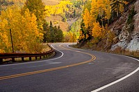Fall colors in the San Juan Mountains of Colorado