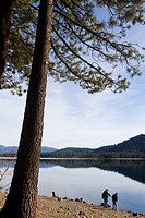 Donner Lake, Truckee, California, USA