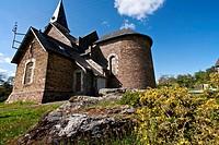 Church of Thelm, broceliande, Ille et Vilaine, Brittany, France