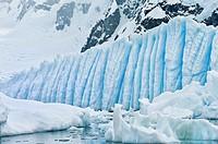 Bahia Paraiso Paradise Bay, Ice Formation, Antarctic Peninsula