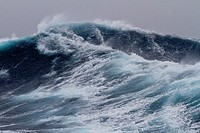 Huge seas and waves in a Beaufort scale 10 storm in the Drake Passage between the Antarctic Peninsula and South America, Southern Ocean