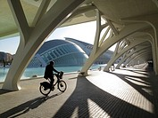 City of the arts and the sciences Arq  Santiago Calatrava  Valencia, Spain