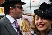 Couple in Royal Ascot