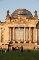 Germany, Berlin, Reichstag, Parliament