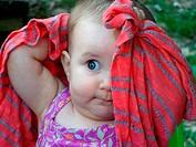 8-Month Old Girl, Mt  Morris, New York, USA