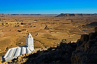 Douiret Berber village, Tataounie area, ksour´s road, South Tunisia, Tunisia.