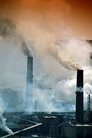 Chile, Chuquiquimata Copper Mine, Smelter and Processing Plant