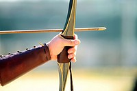 Archery competition, Madrid, Spain