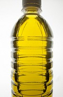 Bottle of Fresh Olive Oil, Crete, Greece