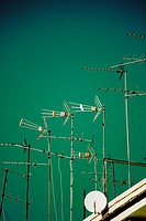 Antennas over the sky