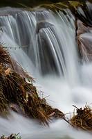 River drop at Lousã Mountain, Portugal
