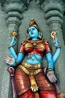Divine Representation, Hindu temple, Georgetown, Penang Hill, Malaysia