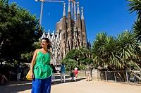 La Sagrada Familia  Barcelona, spain