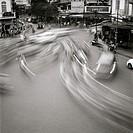 A street scene in Hanoi in Vietnam in Southeast Asia Far East