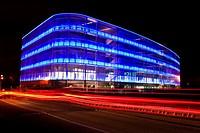 Ebrosa building, Arquitecture in Madrid, Spain