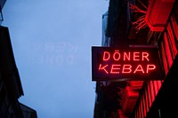 Doner Kebap sign