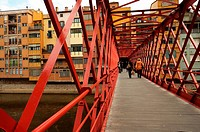 Eiffel Bridge. The bridge is named after Gustave Eiffel who built this bridge in 1876, years before building the Eiffel tower in Paris.