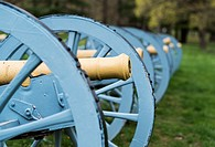 Cannon at Valley Forge National Historic Park, Pennsylvania, USA.