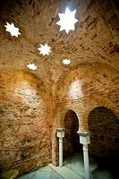Arab baths in Ceuta (Spain, Europe, Africa).
